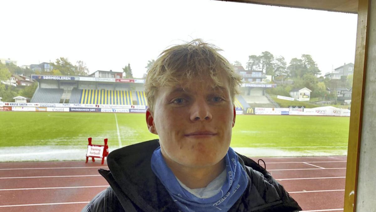 Filip Gripsgaard debuterte for Odd i en kamp han vil huske.