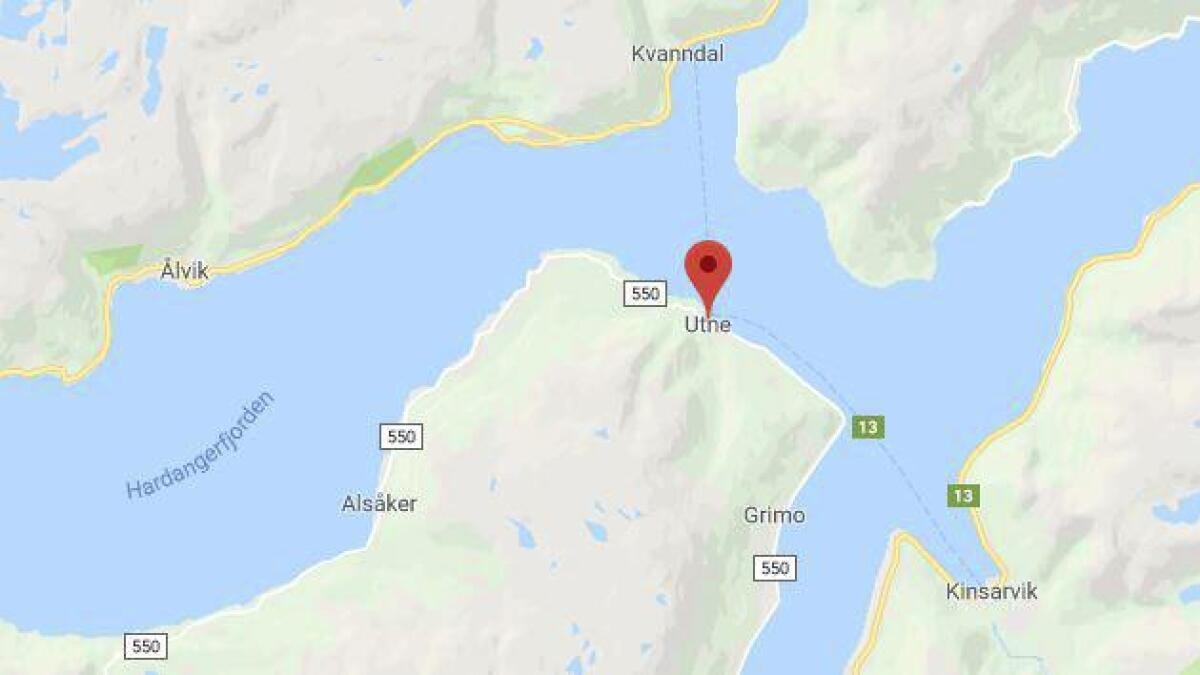 Kinsarvik - Utne og Kvanndal - Utne.
