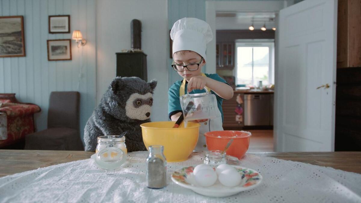 De minste barnas favorittbjørn skal på ferie. Pressefoto