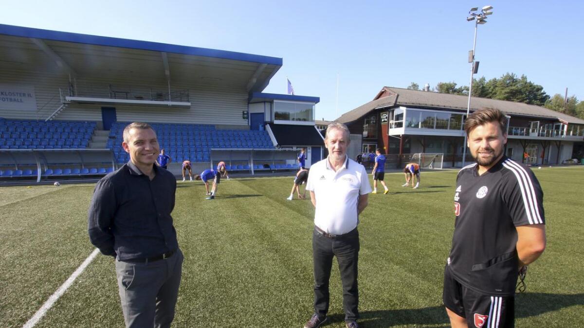 Arne Instebø og Family Sports Club er innstilt på eit langvarig samarbeid med Lysekloster IL. Sportsleg leiar Svein Kollen og A-lagstrenar Ruben Hetlevik er godt nøgd med avtalen.