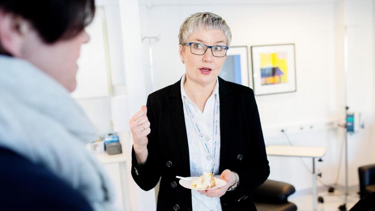 Reidun Rasmussen Mjør.