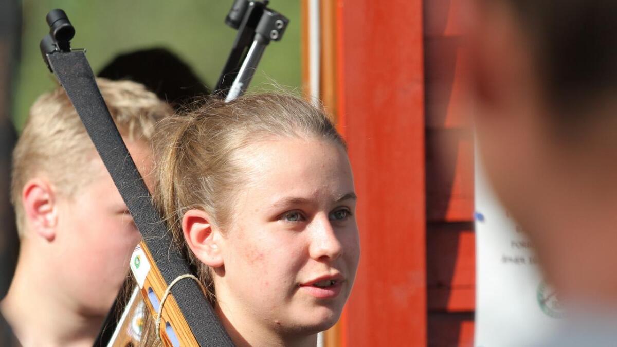 Amalie Sagemoen fra Ugland slo til med 30/25 på felten.