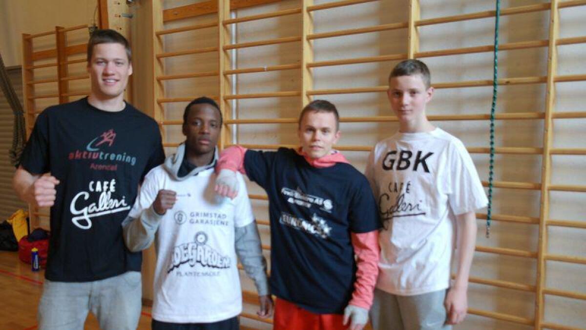 Kai Robin Havnaa, Diddi Hugues, Mindaugas Gaikauskas, og Thomas Lamo tok alle medaljer da de deltok i Ulfan Box Cup.
