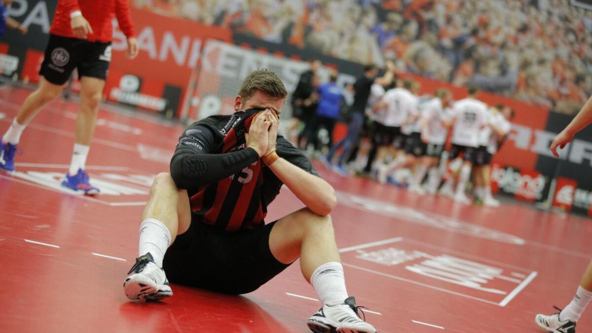 Laurits Mo Rannekleiv depper etter at Elverum for tredje sesong på rad ble for sterke i sluttspillfinalene.