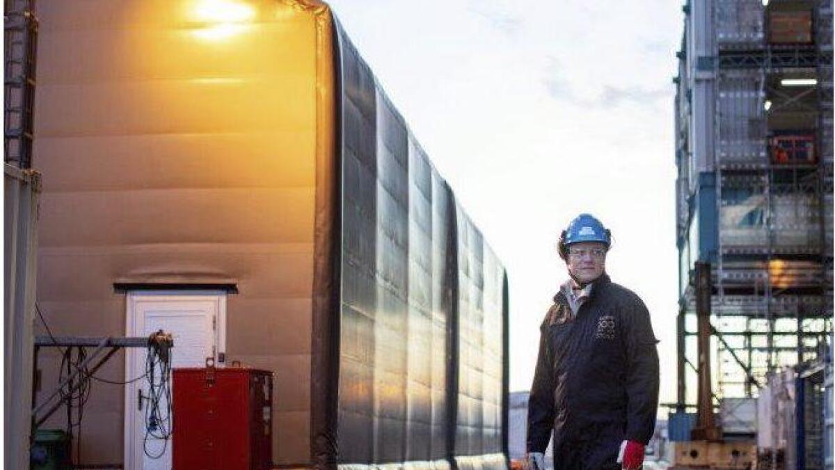 Totalt vil ca. 3.000 personar jobba på Kværner på Stord når aktiviteten er på topp i vinter, fortel kommunikasjonssjef Odd Naustdal.
