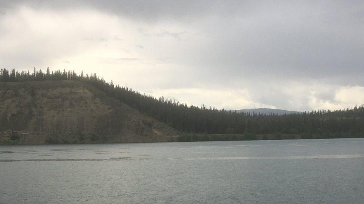Yukon River Quest ble svært krevende for Morten Paulsen og de andre deltakerne..ALLE