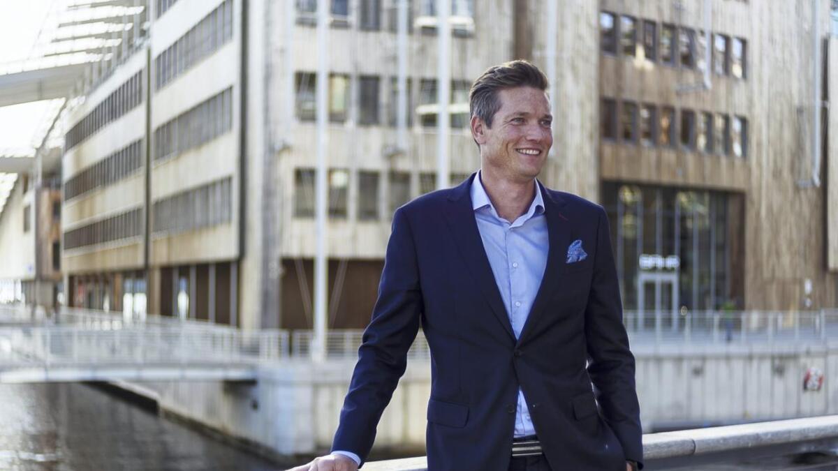 Børsnoteringen i Stockholm har gitt dobling av aksjekursen for 24SevenOffice. Administrerende direktør Ståle Risa er glad hardt arbeid i mange år nå gir kraftig vekst i antall kunder og verdivurderingen i markedet.
