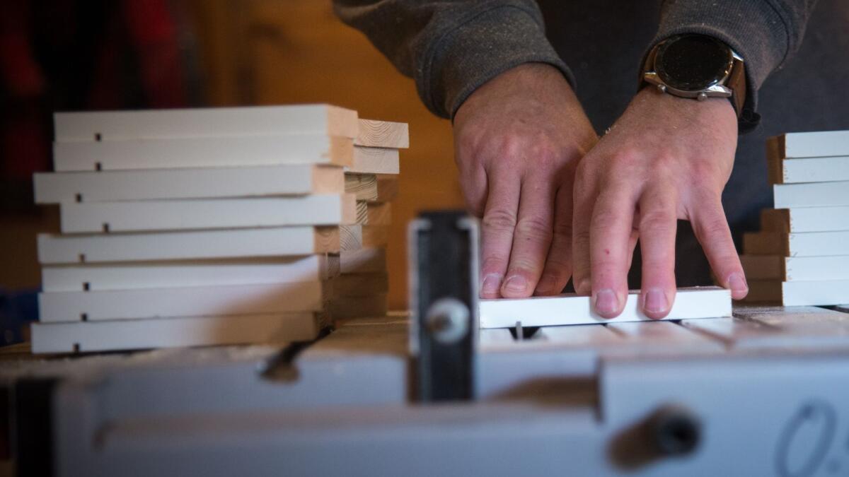 Nytt liv til gamle plankar