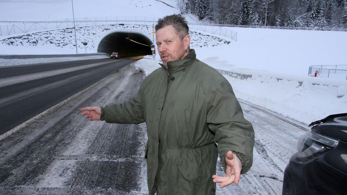 Her kjører Knut Arild Hareide i «fylla»
