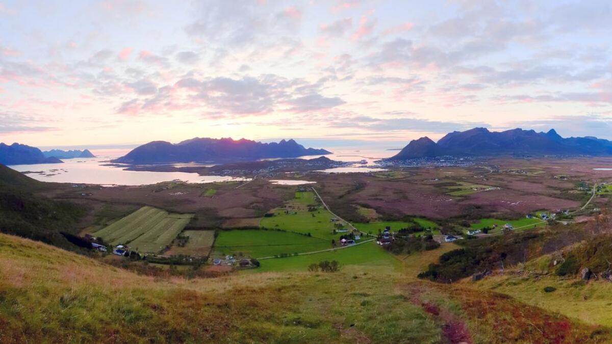 Utsikt fra Øvergårdsfjellet