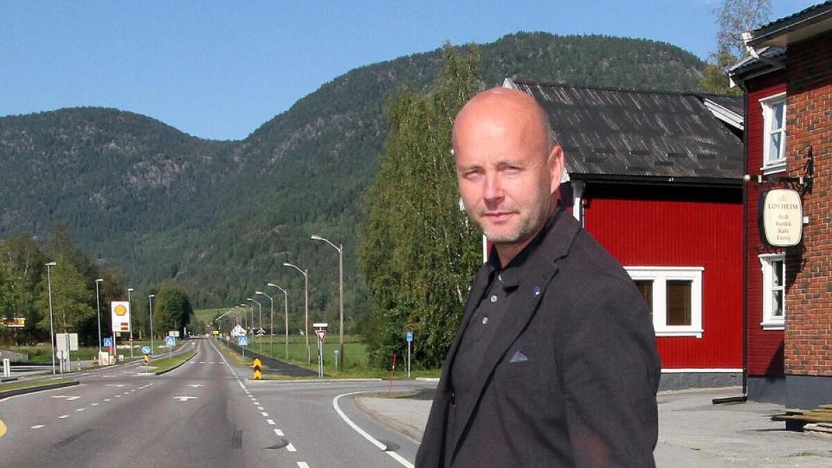 Steinar Bergsland topper lista for Tinn Høyre.