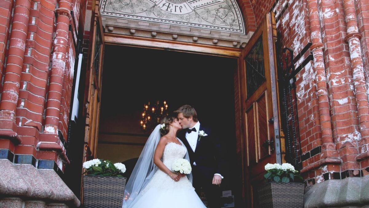 – Jeg liker absolutt alt ved Gaute, sa den bruden til Agderposten før bryllupet.