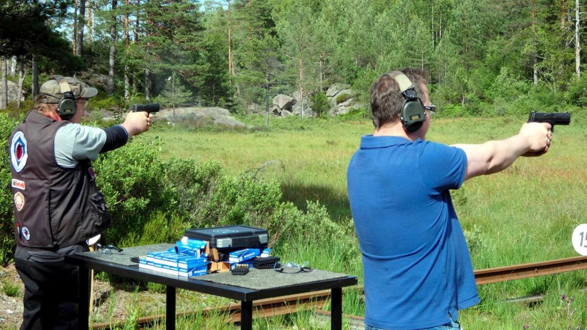 Roy Baumann og Ragnar Seljåsen knivet i siste finaleskyting.