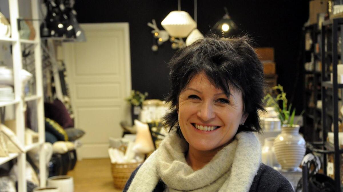 Gunn Berit Gundersen har hovedansvaret for hvordan Vennesla styggeste rom skal bli et av de fineste.