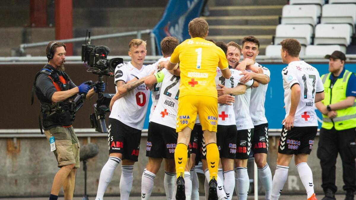 Odd vant 3-1 i toppkampen mot Bodø/Glimt.