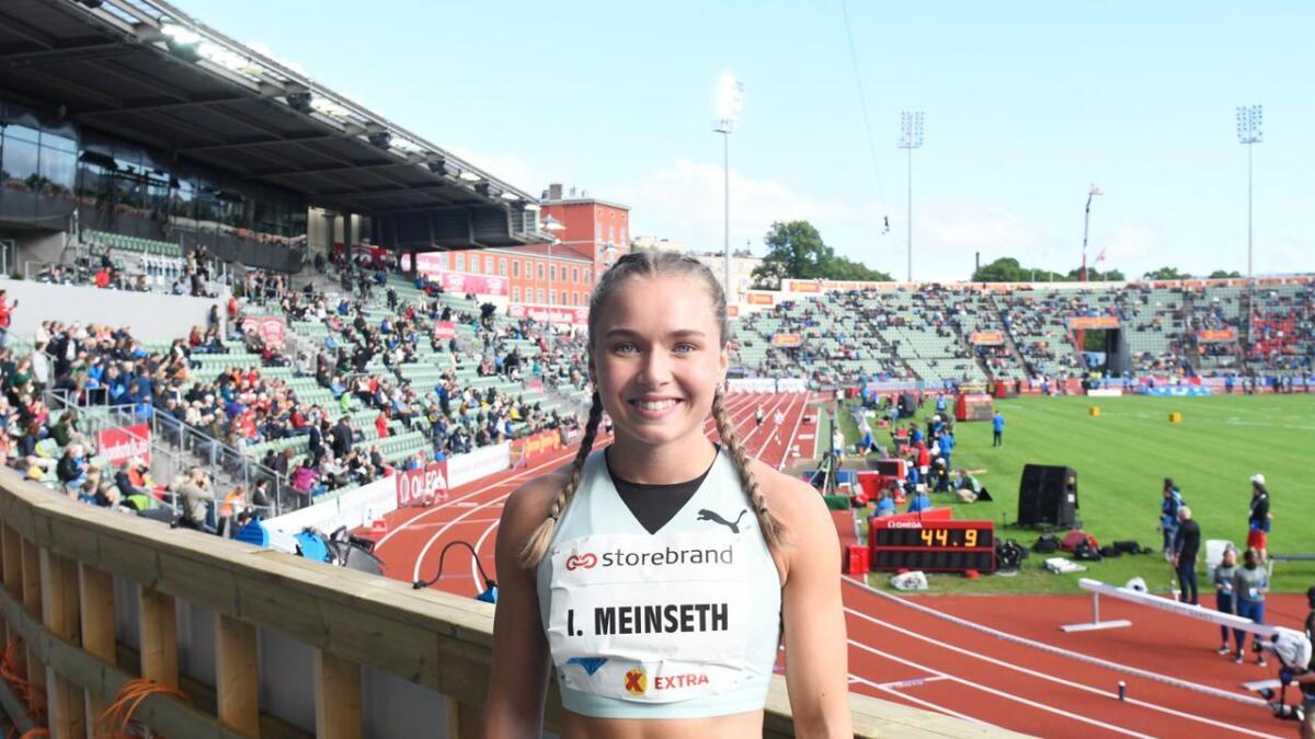 Ingvild Meinseth stiller på tre øvelser i U23-EM.