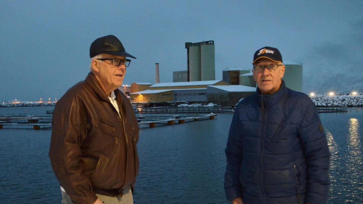 Torbjørn Jenssen og Villy Martinsen sørget for fiskemel og fiskeolje til verden. Og lukt til Melbu. I dag sitter de igjen med gode historier fra en spesiell arbeidsplass.