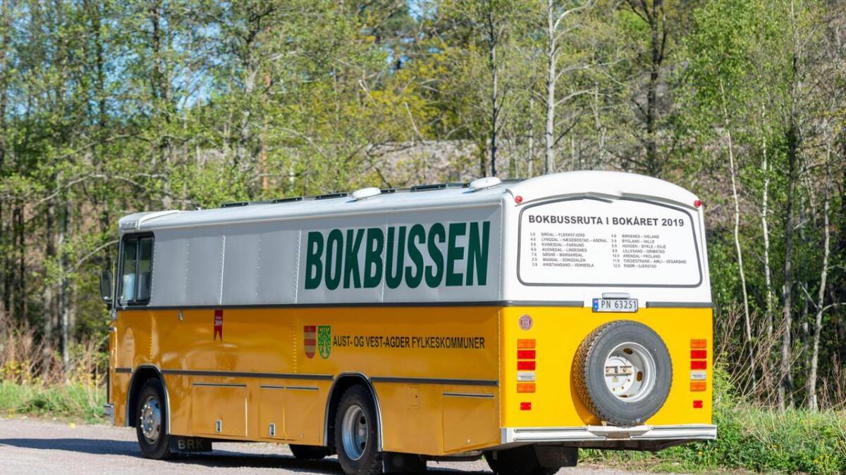 9. september kommer bokbussen til Lillesand.
