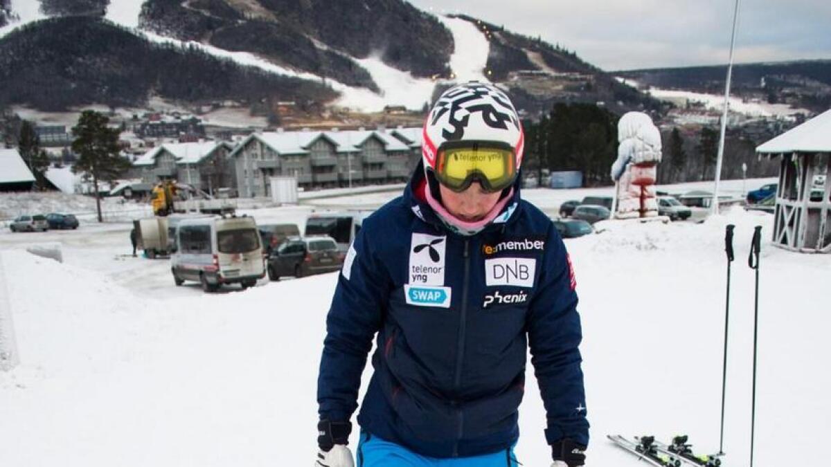– Kneet kjennest godt etter skikøyringa, seier Tviberg etter dei fyrste treningsdagane på ski i Hallingdal.