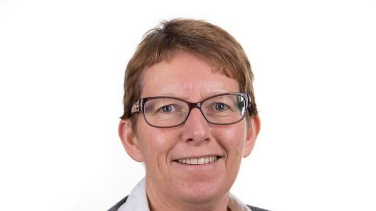 Rådmann Kirsten Lehne Pedersen budsjetterer med tre millioner kroner i årlige inntekter fra Andmyran Vindpark fra 2021.