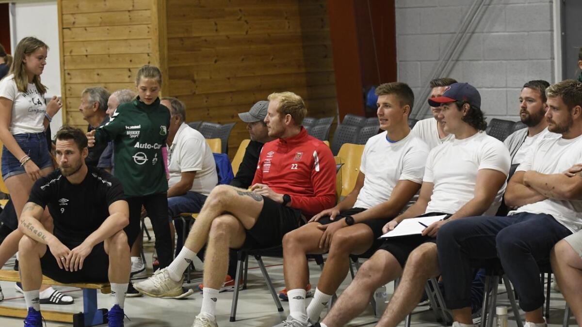 André Lindboe, Jesper Munk, Kristoffer Pedersen, Kristijan Jurisic og Laurits Mo Rannekleiv.