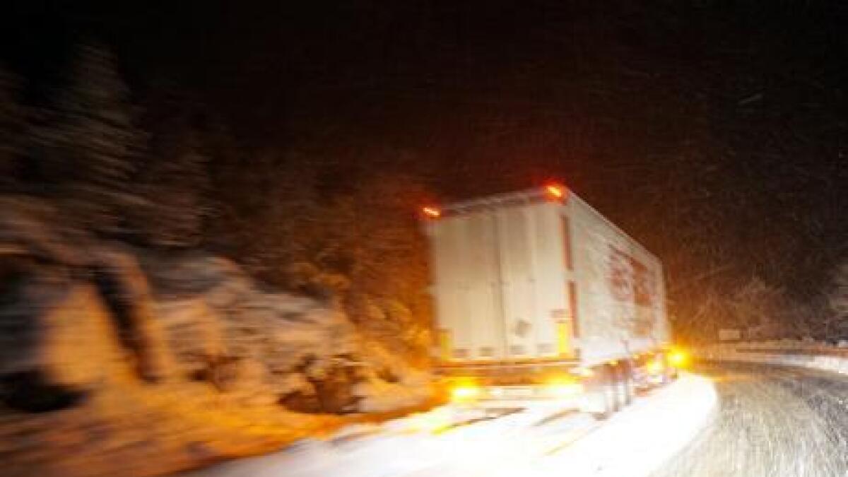 En norsk semi-trailer.