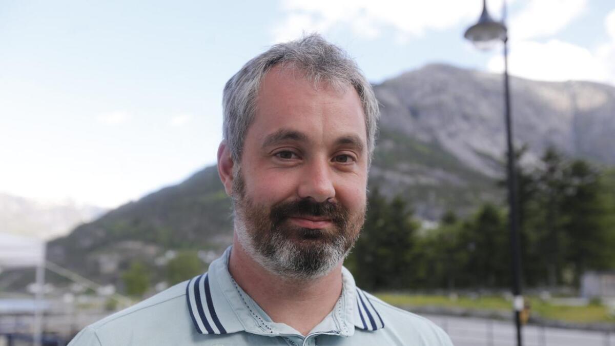 Anders Vatle er 1. kandidat for Eidfjord Senterpart, som sit med ordføraren no.