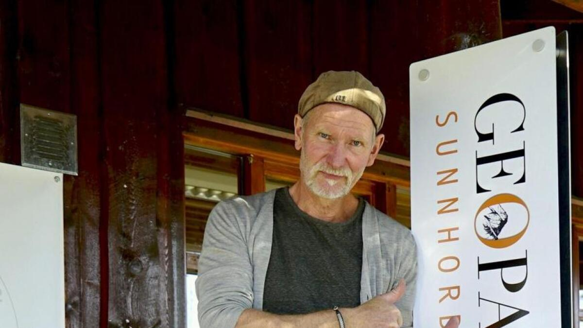 Denne veka reiser prosjektleiar Brynjar Stautland (biletet) og Bjørn Arve Lunde frå SHL Museum på friarferd til Det Europeiske Geoparknettverket (EGN) med Geopark Sunnhordland. Medlemskap i EGN kvalifiserer til UNESCO-status.