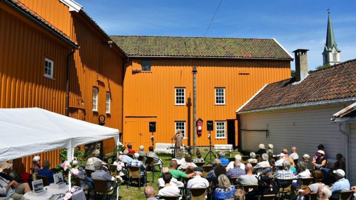 Fra museumsåpningen, 17.juni 2017.