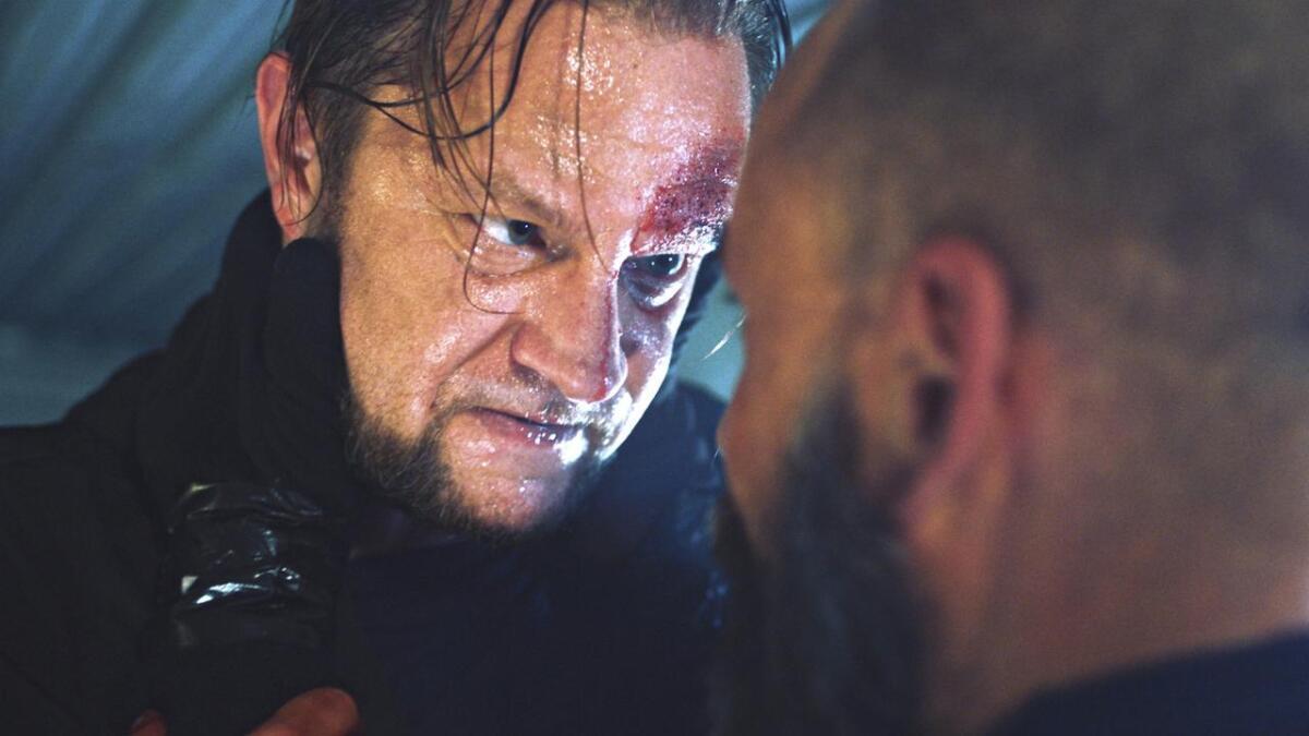 Sigurd Sele er aktuell i filmen «Stryk i brekk», der han spelar gangsterleiar frå Bømlo.