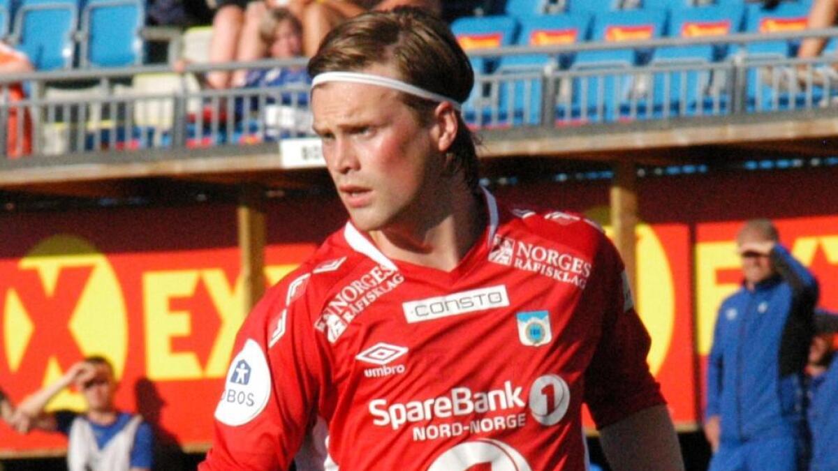 Tobias Nygård Vibe fra Lødingen har skrevet under for 2. divisjonsklubben Alta IF.