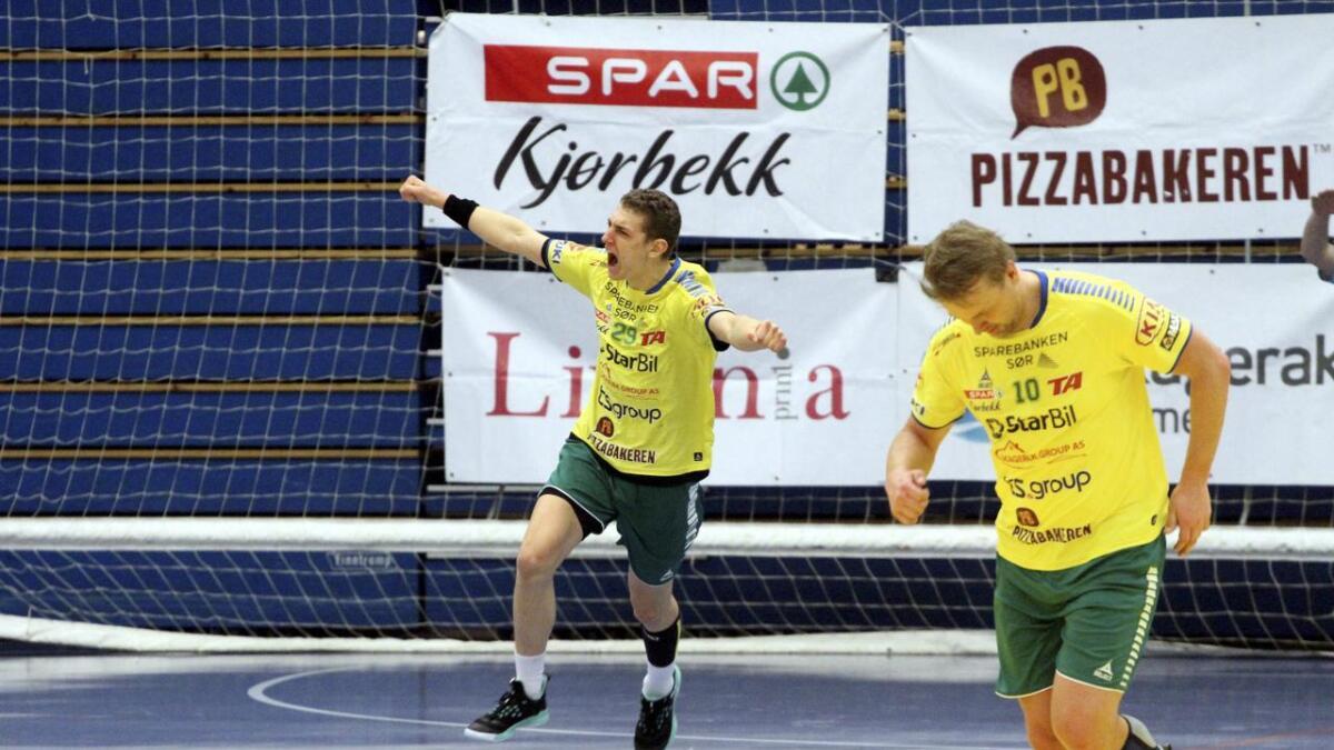 Benedikt Ewald og Herkules snudde kampen i sør, men mistet seieren.
