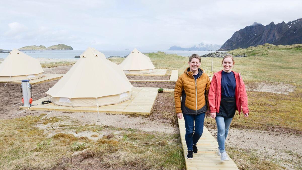 Glamping klar i Bø: – Vi tilbyr ekte vare
