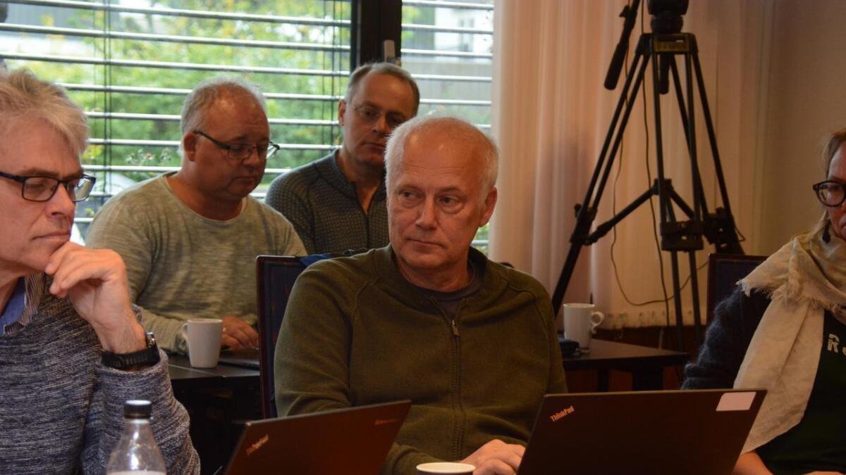 Esben Moy (MDG) er svært negativ til vindmøller i Grimstad, og gjorde det klart i kommuneplanutvalget torsdag.