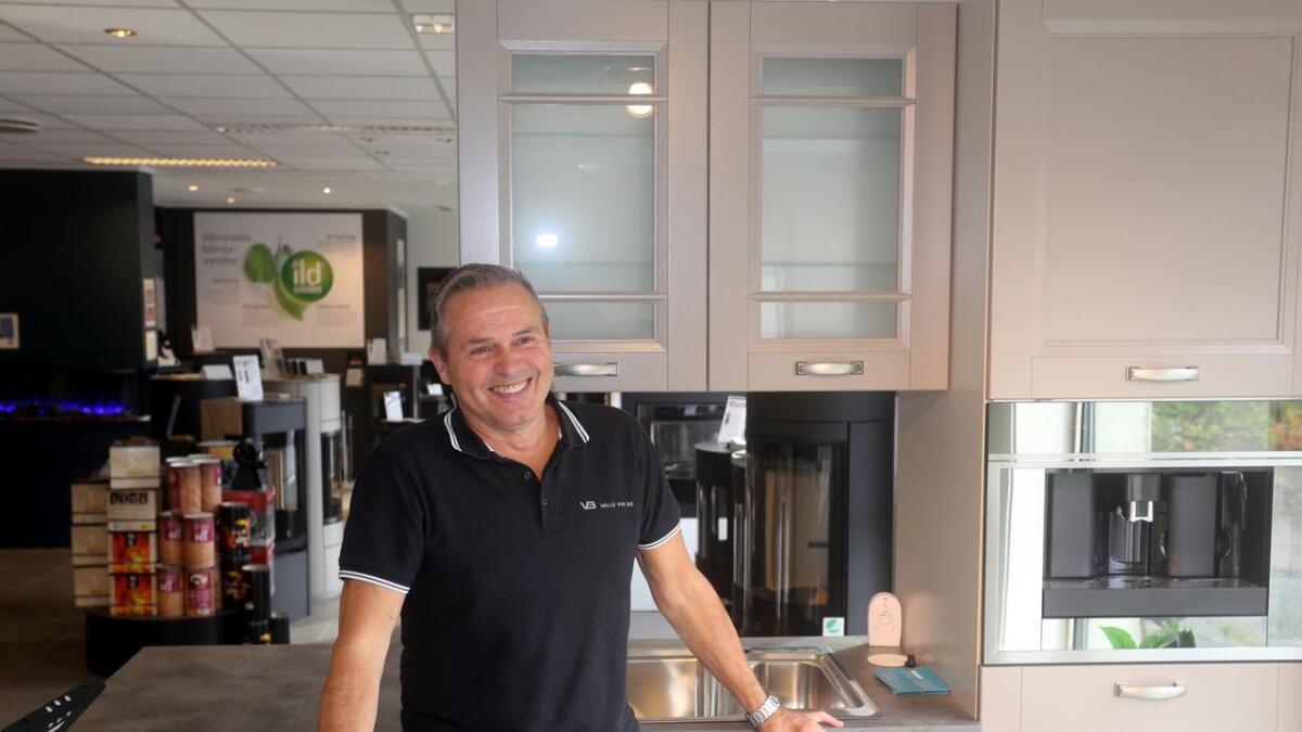 Jostein Vråberg selger igjen Focus-kjøkken på Sortland.