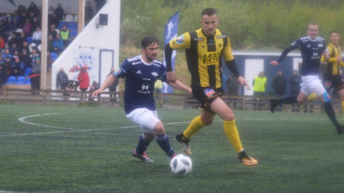Karl-Christian Karlsen scoret to av Melbos tre mål mot Harstad sist helg, og i dag ble det to mål mot også Stålkameratene.