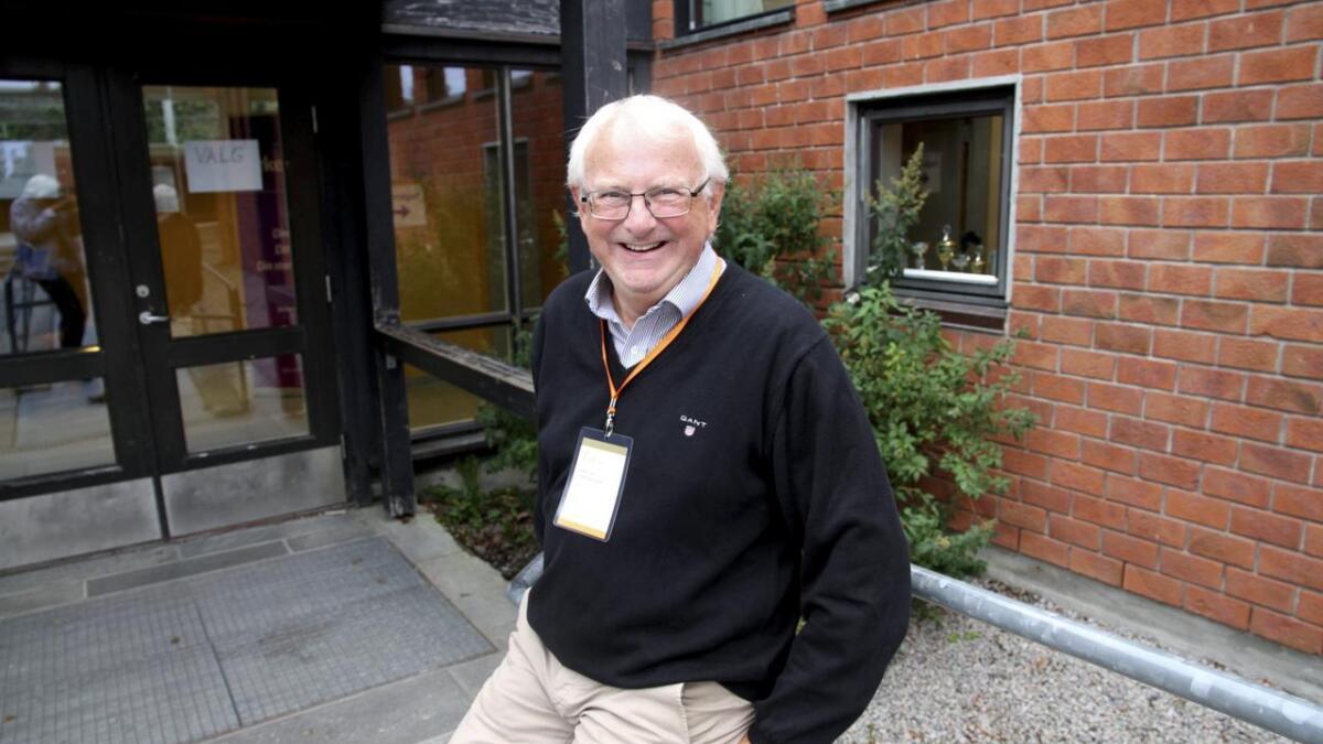 Carl Magne Isaksen leder stemmestyret på Grønli med fast hånd.