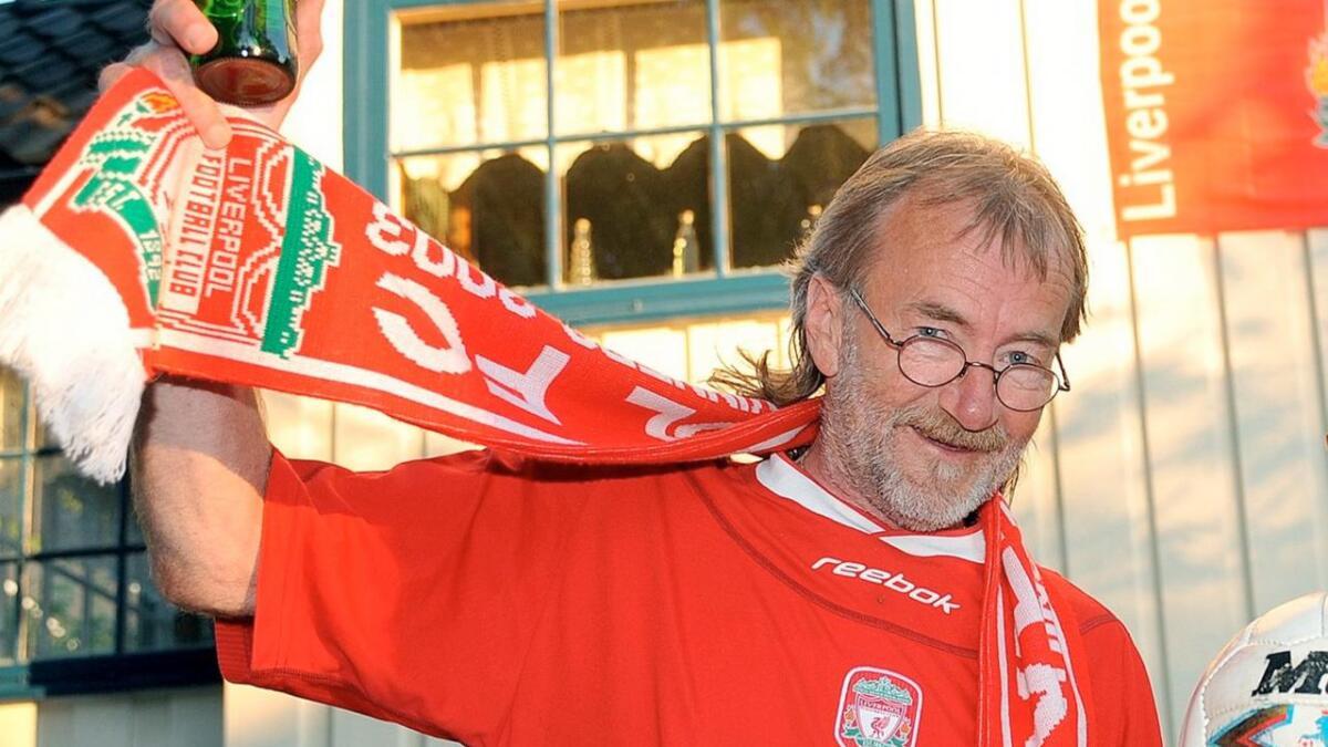 Liverpool-supporter Willy Rose bare måtte reise til Liverpool for å se Champions League-finalen.