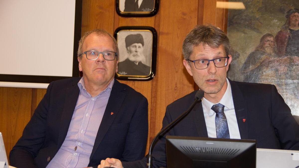 Måndag startar prosessen med å skipa grendautval i Voss herad. Fyrste møtet vert på Sundve, der både ordførar Hans-Erik Ringkjøb (t.h.) og varaordførar Sigbjørn Hauge vil ta del.