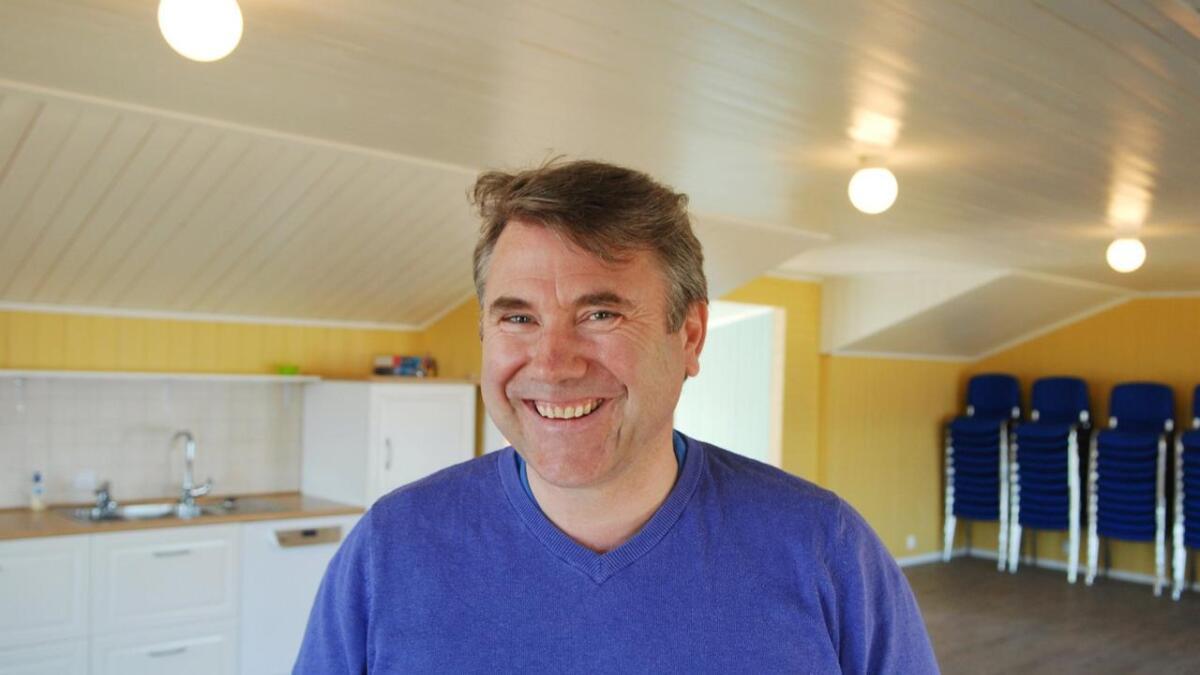 Tør en å gjøre ei forandring? spør Morten Nygård. Selv gjør han det.