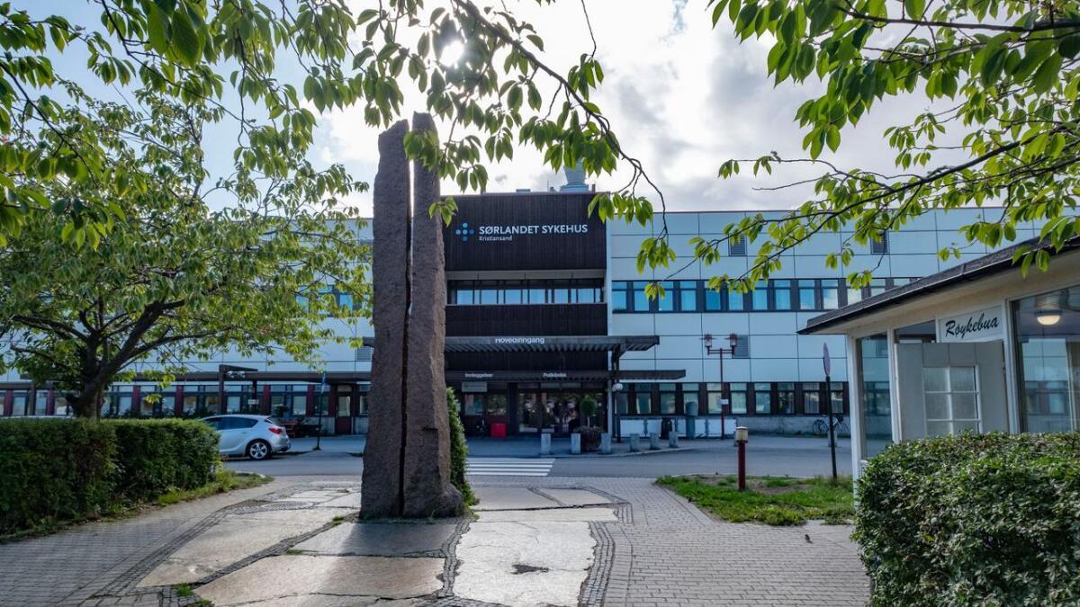 Sørlandet sykehus er blant dem som blir rammet av streiken.
