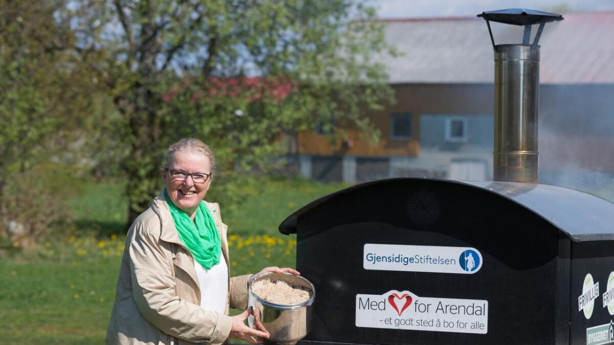 Milly Olimstad Grundesen, 1. kandidat Arendal Sp.