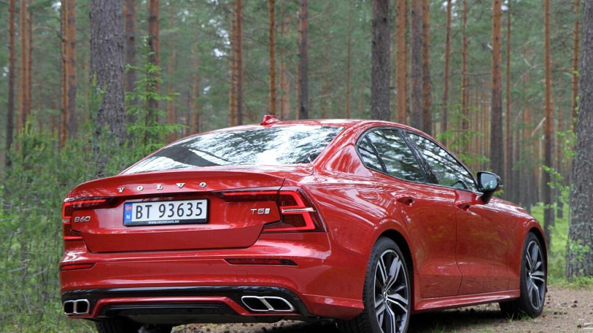 Bagasjerommet i S60 er rundt 90 liter mindre enn det man finner i stajonsvognen V60.