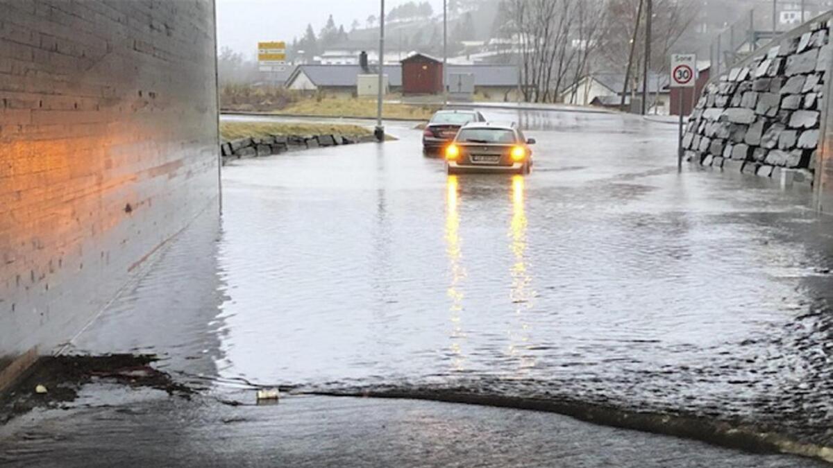 Mykje vatn ved Døso på Stanghelle.