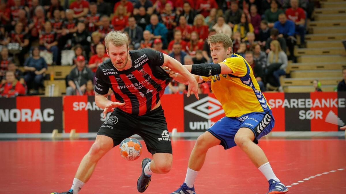 Eirik Heia Pedersen og ØIF Arendal må løfte seg mange hakk fra serieåpningen for å kapre poeng borte mot Bækkelaget.