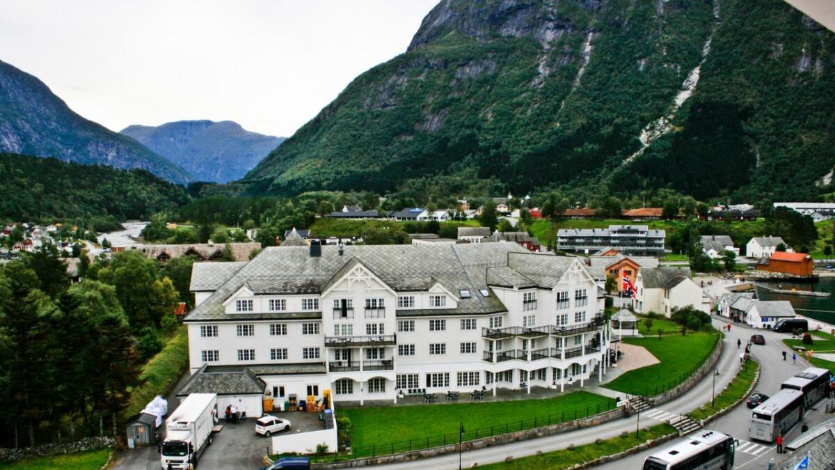 Overdragingar i Eidfjord kommune i juli.