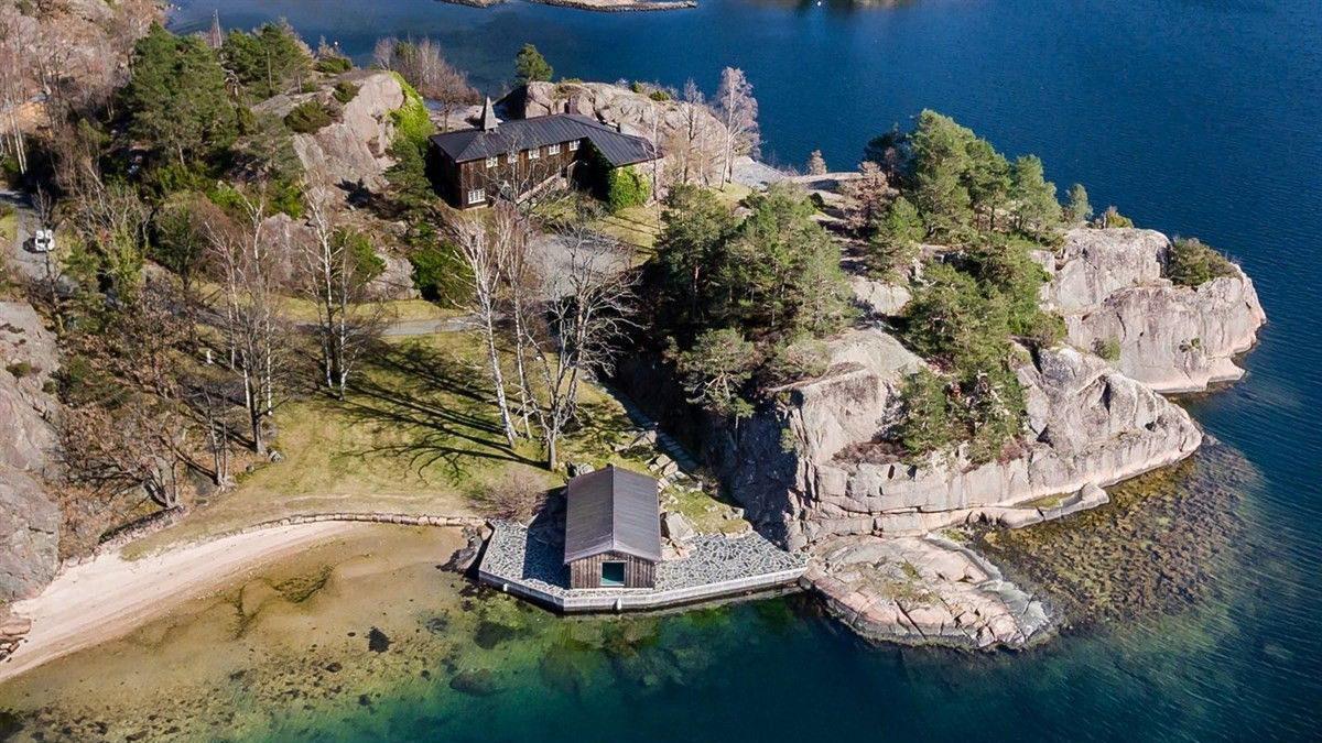 Slottet i Hesnesveien er nå solgt.