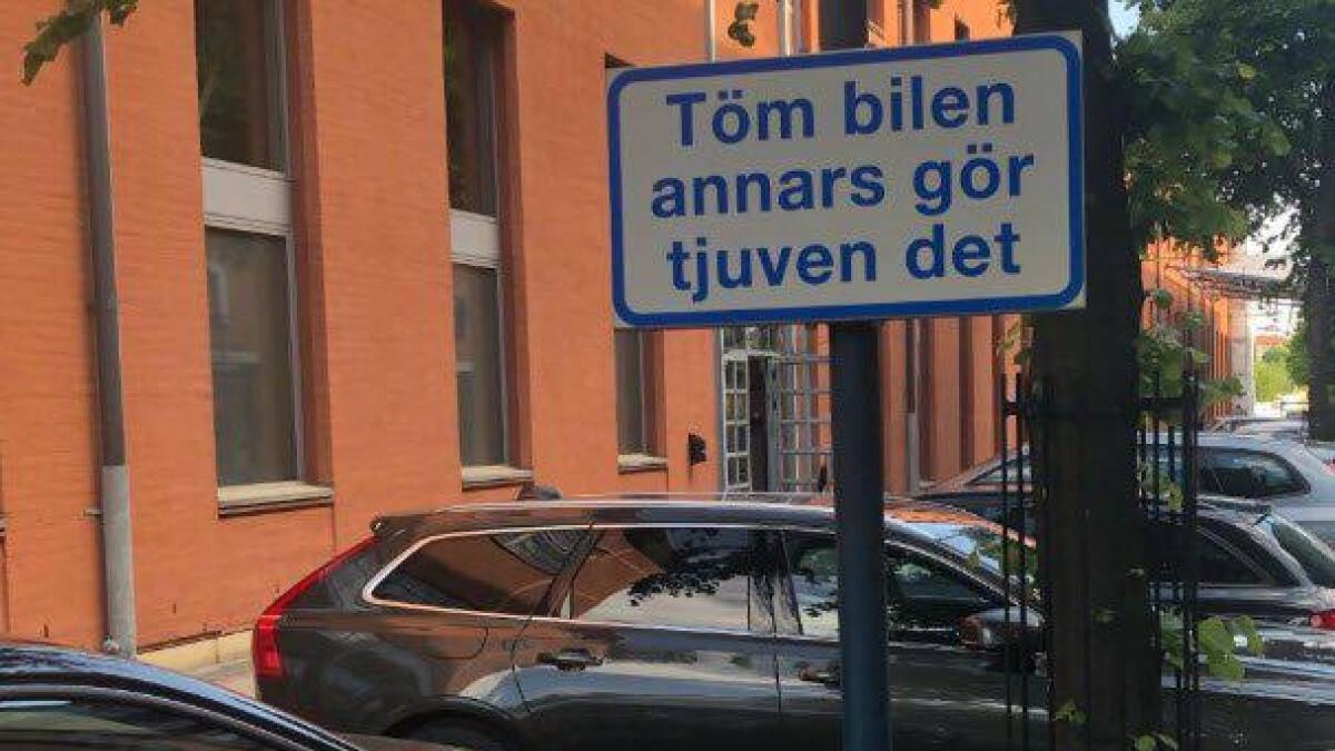 Politiet har store problemer med å stoppe alle bilinnbruddene i Gøteborg.