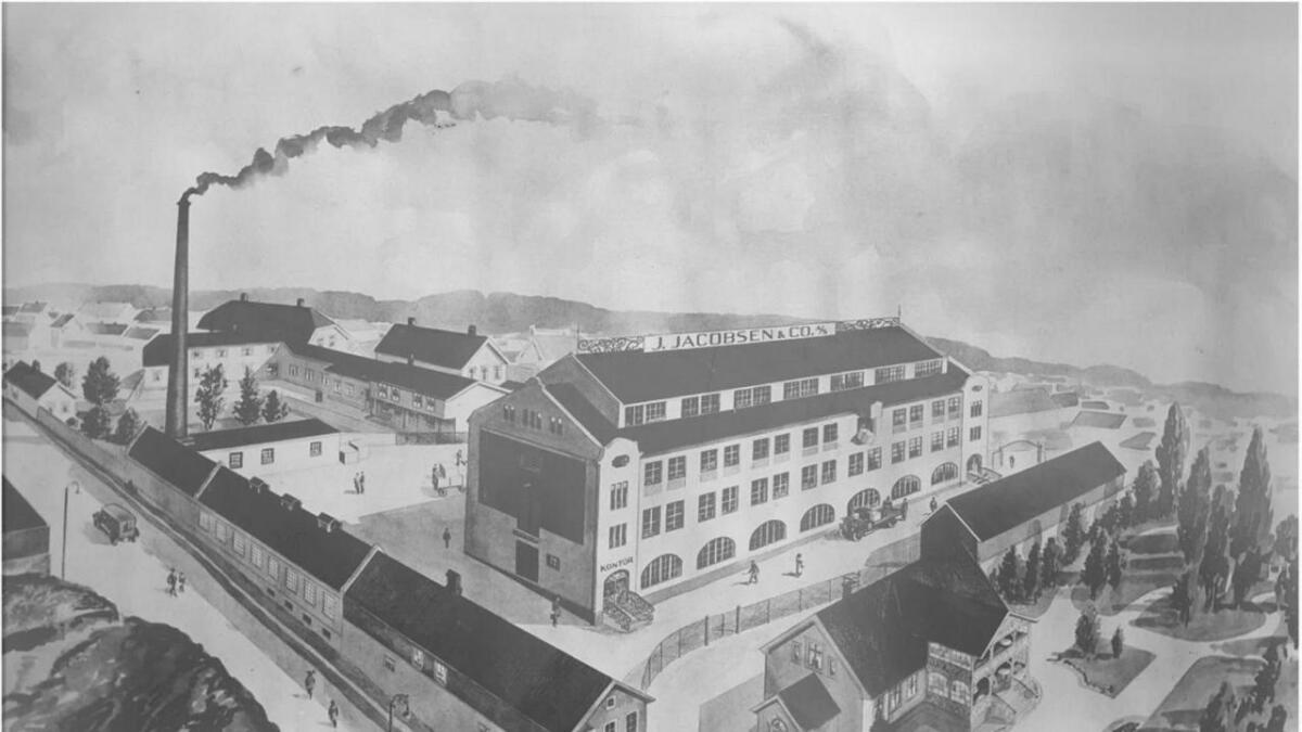Brynje of Norway fabrikktegning