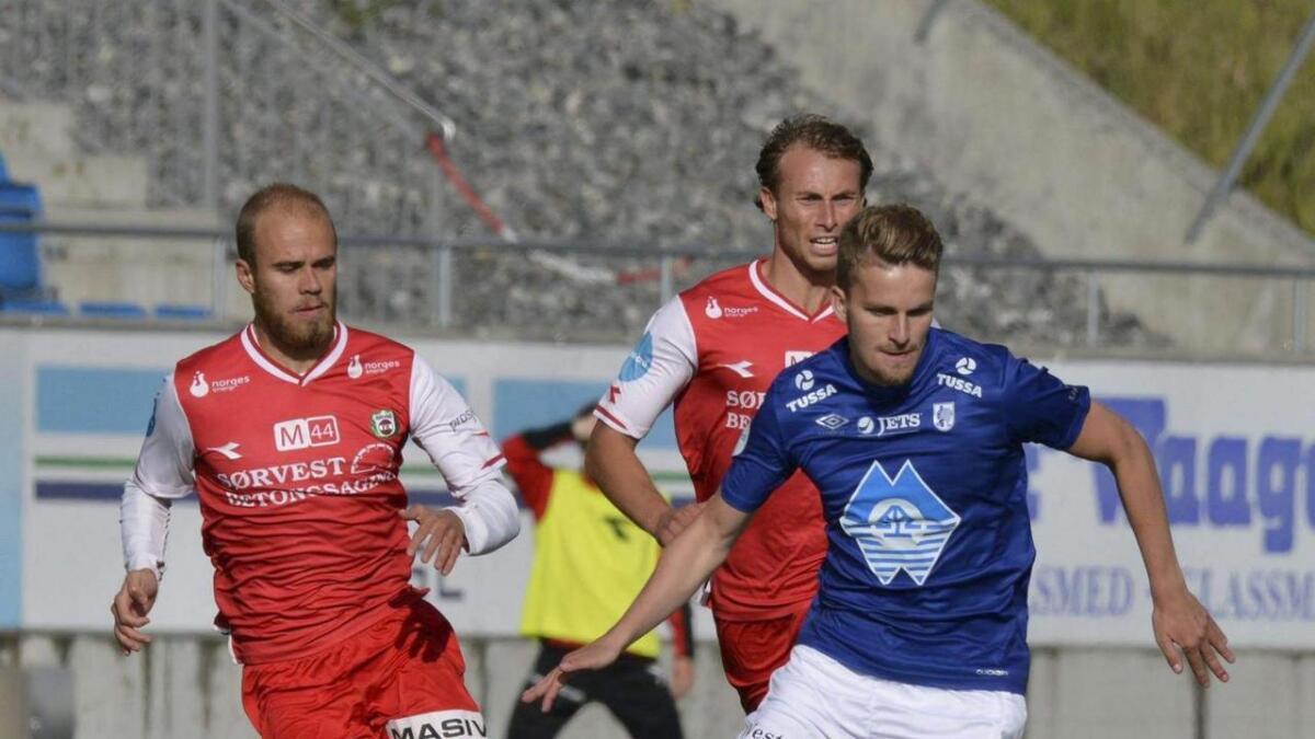 Torbjørn Kallevåg er tilbake på fotballbanen etter et skadeavbrekk. Han er i dialog med FK Haugesund og kan bli eliteseriespelar i løpet av hausten.